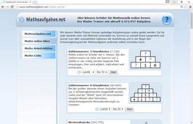 Mathematik Linkliste